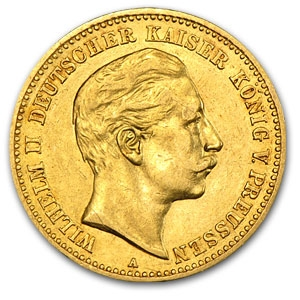German Gold Coin